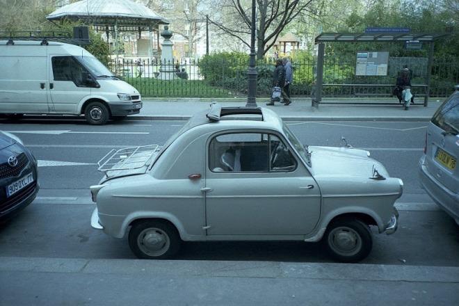 Vespa 400. Coche 1957
