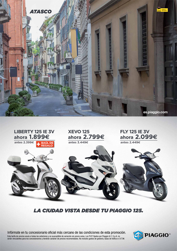 de vuelta al atasco vespa roma. Black Bedroom Furniture Sets. Home Design Ideas