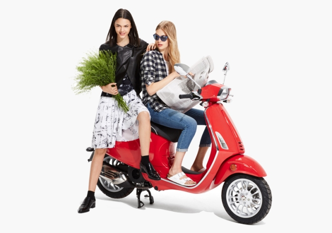 Armany Exchange Vespa look 04