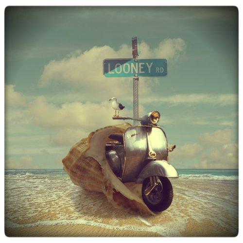 Vespa en la Playa