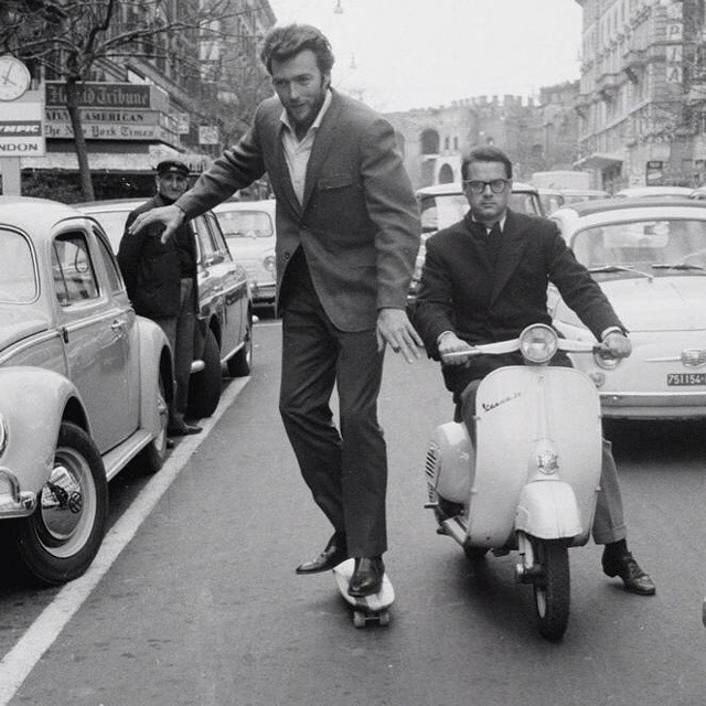 Clint Eastwood Skateboard