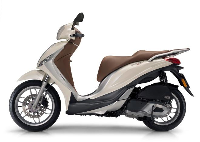 Piaggio Medley 150 bianco 2016 laterale sx