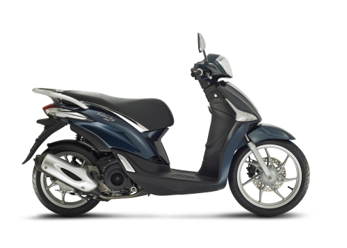 Piaggio New Liberty 125 Blu LatDX4305