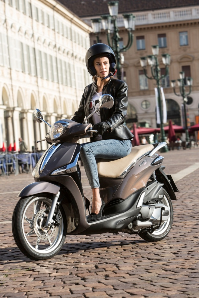 Piaggio New Liberty 125 marrone 01