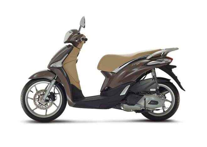 Piaggio New Liberty 125 marrone  02