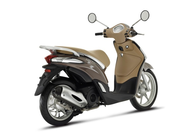 Piaggio New Liberty 125 marrone 03