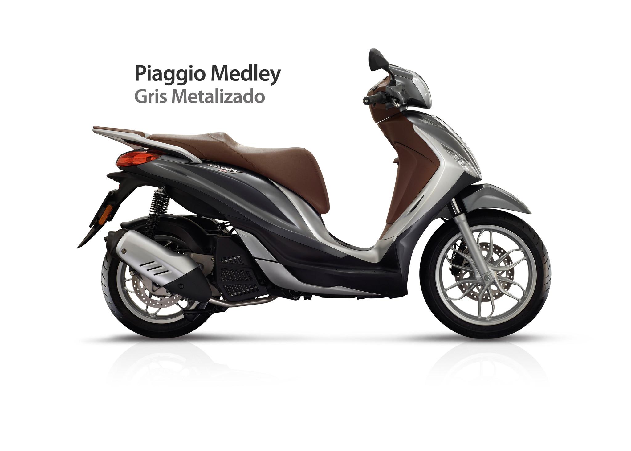 Piaggio Medley 125  Gama De Colores  U2013 Vespa Roma