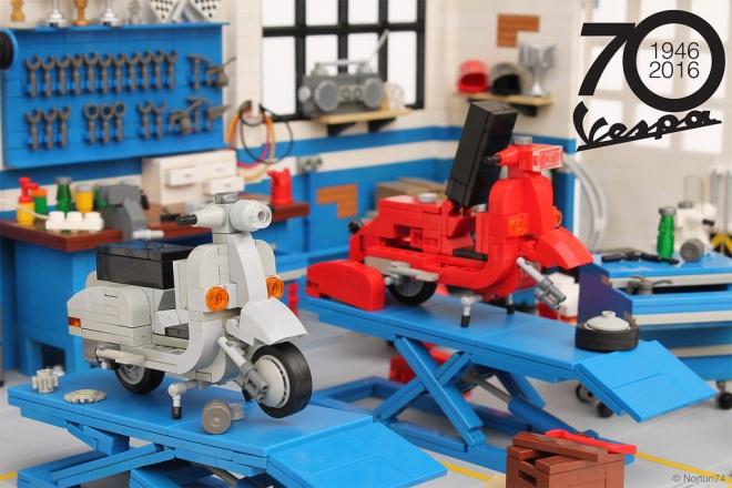 Officina Super Sprint Lego 02