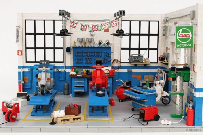 Officina Super Sprint Lego 03
