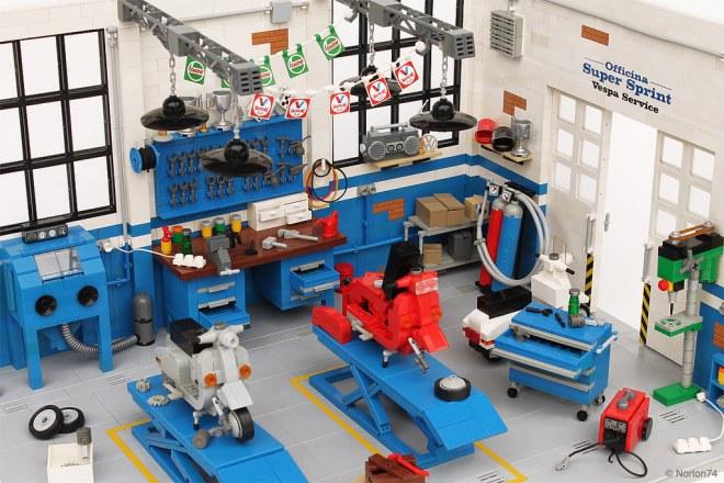 Officina Super Sprint Lego 04