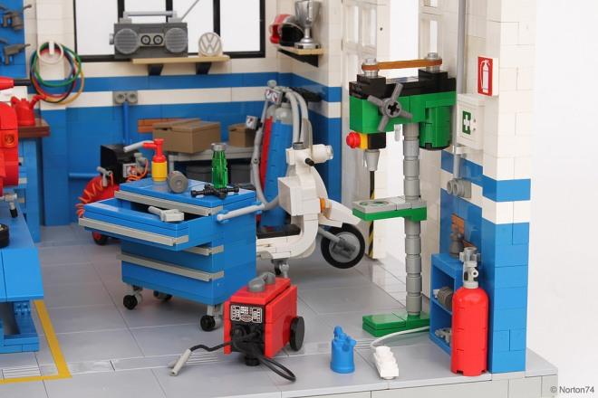 Officina Super Sprint Lego 05