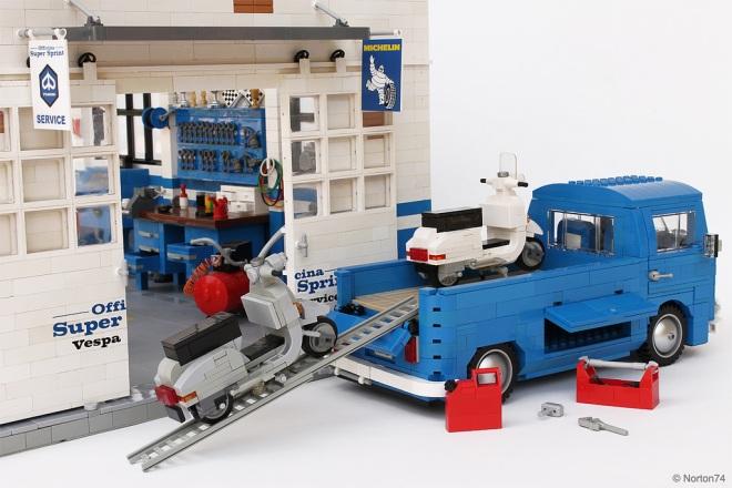 Officina Super Sprint Lego 06