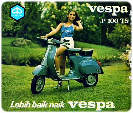 Vespa PTS Indonesia