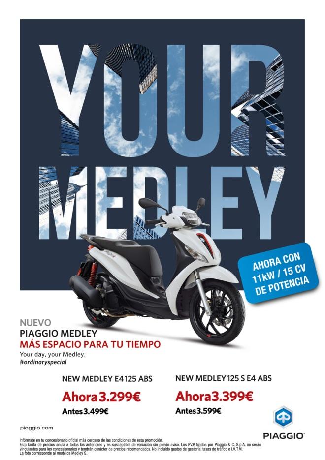 Oferta Piaggio Medley Enero 2021